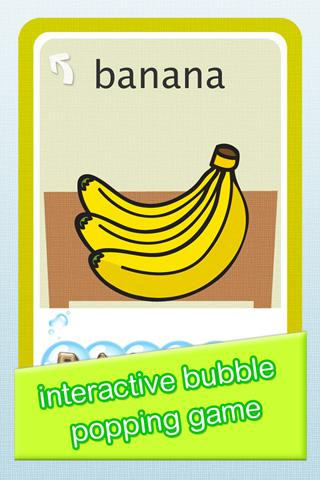 Bubble Popper 3:Baby Flashcard- screenshot