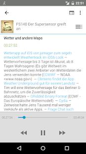 AntennaPod – Miniaturansicht des Screenshots