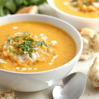 Smoky Coconut And Butternut Squash Soup