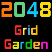 2048 Grid Garden