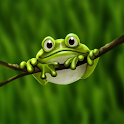Cute Froggy logo