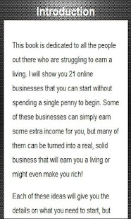 21 Ideas to Make Money Online- screenshot thumbnail