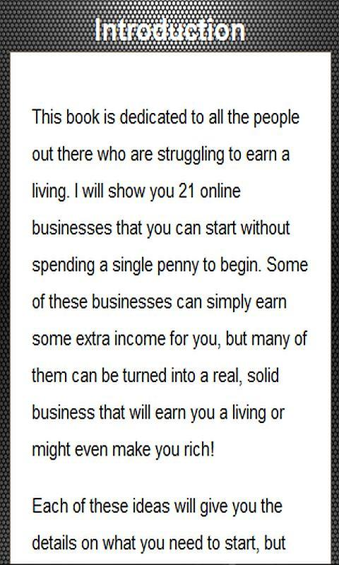 21 Ideas to Make Money Online- screenshot