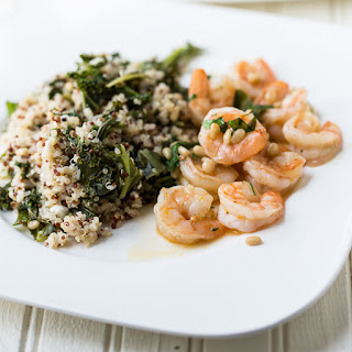 Shrimp with Orange and Pine Nuts Recipe