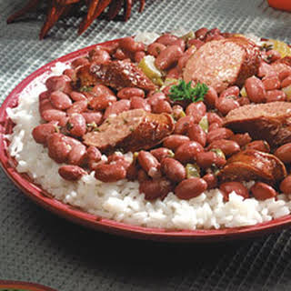 Louisiana Red Beans and Rice.