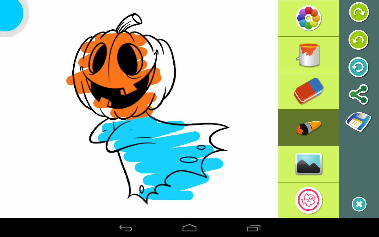 halloween coloring pages android apps on google play