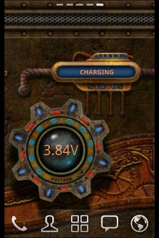 Steampunk Time Live Wallpaper- screenshot