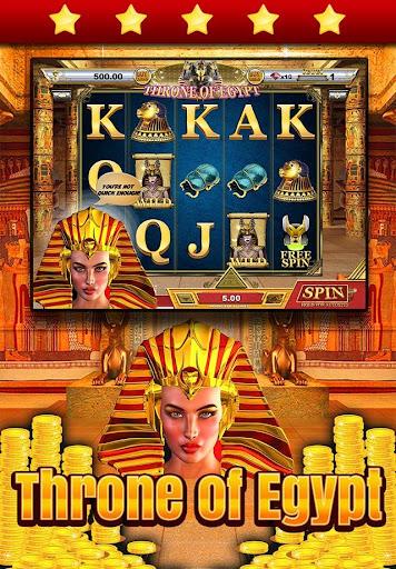 Throne of Egypt Treasure Slots