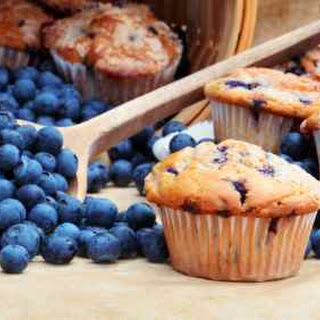 Otis Spunkmeyer Blueberry Muffins.