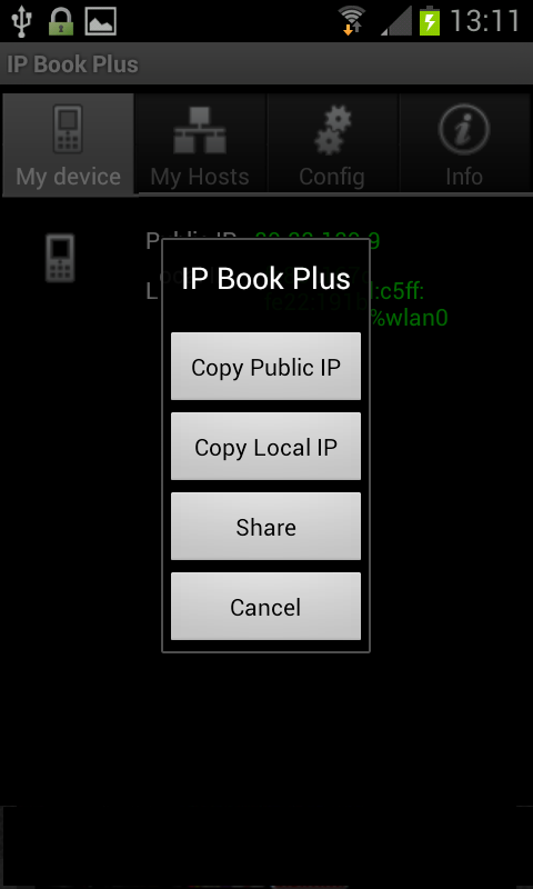 IP Book Plus - screenshot