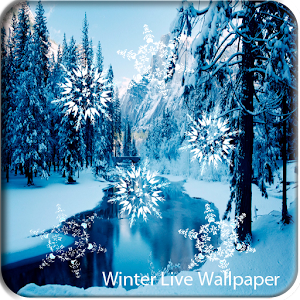 Download Winter Snowfall Live Wallpaper For PC