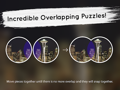 Venn Skylines: Circle Jigsaw- screenshot thumbnail