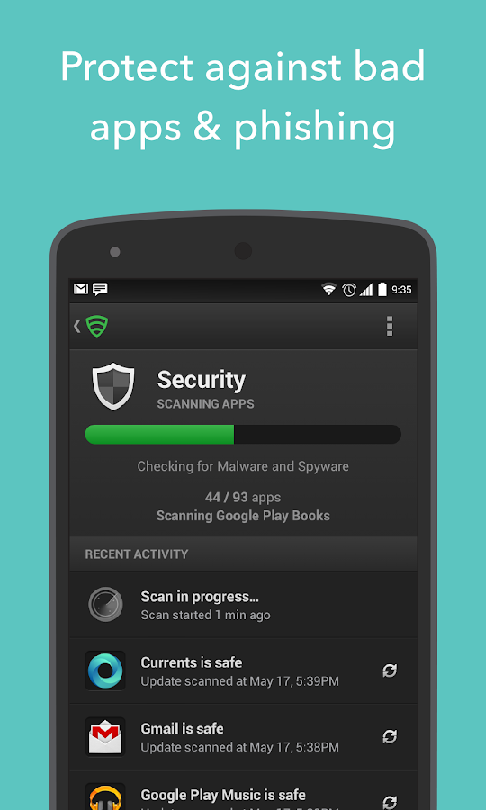Lookout Security & Antivirus - screenshot