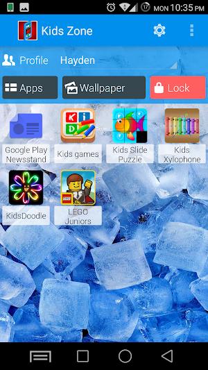9 Kids Zone Parental Controls App screenshot