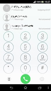 exDialer i7.1 Light theme