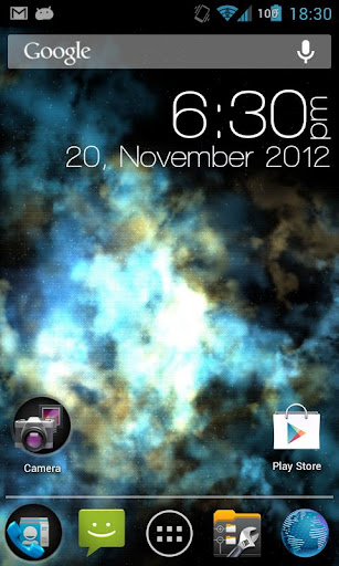 Nebula Live Wallpaper