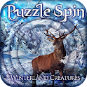 PuzzleSpin - Winter Creatures icon