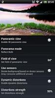 Screenshot of Panoramic Screen