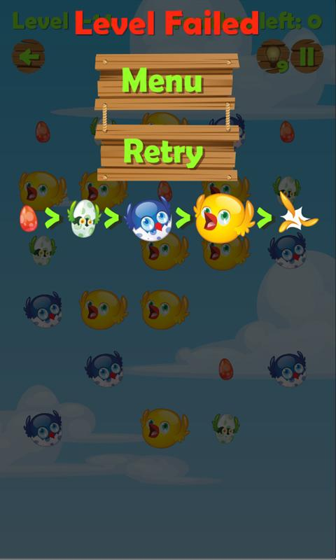Birds Hatch Blast - screenshot