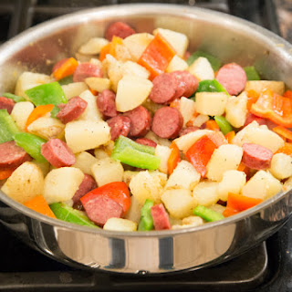 Sausage, Potato & Pepper Skillet Dinner
