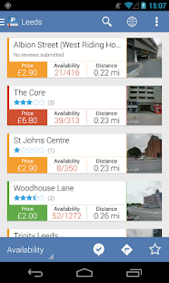 Parkopedia Parking- screenshot thumbnail