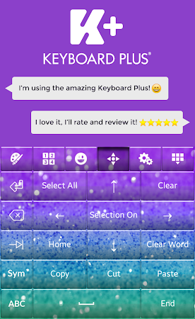 Glitter Keyboard Theme 2.0 screenshot 2012846