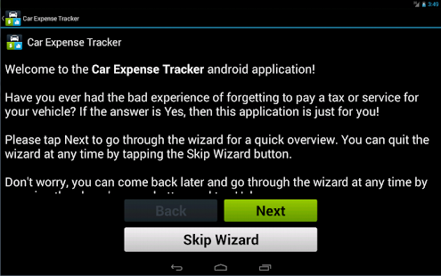 Car Expense Tracker- screenshot thumbnail