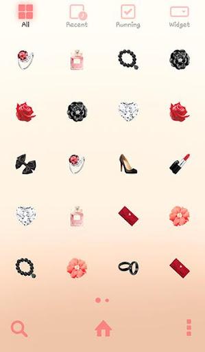 【免費個人化App】러블리걸(chic) 도돌런처 테마-APP點子