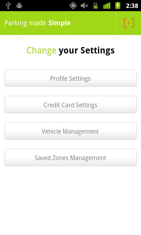 Parkmobile - screenshot