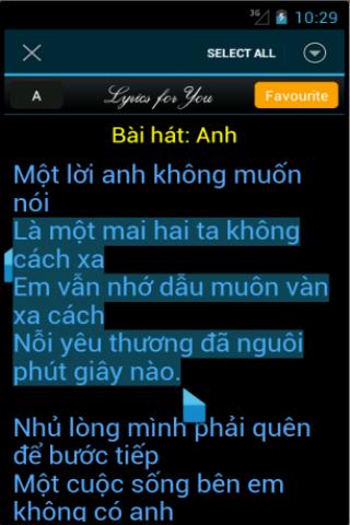 Loi bai hat - Lời bài hát - screenshot