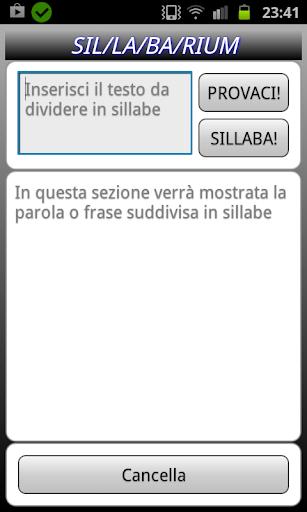 Sillabarium