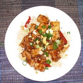 Tofu with Pork and Cashews.