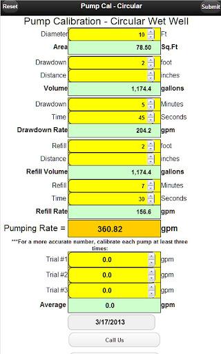 Pump Calibrator - Circular