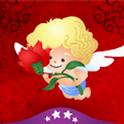 Cupid's Love Roses logo