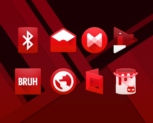 RED. Icon Pack
