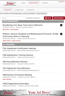 FMEA Florida Music Educators- screenshot thumbnail