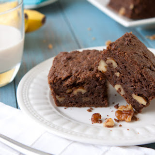 Chocolate Banana Cake Bars