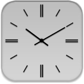 Black S3 Analog Clock
