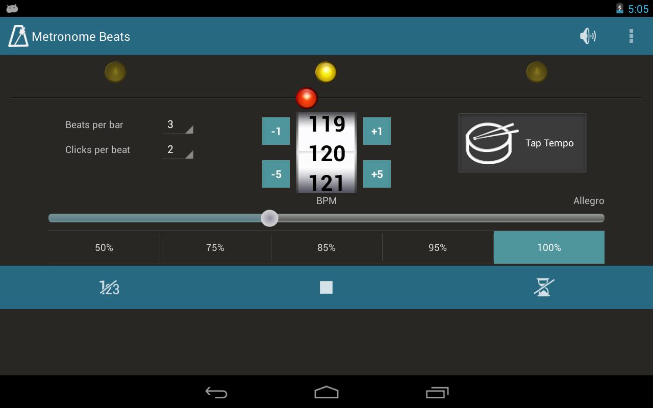 Metronome Beats- screenshot