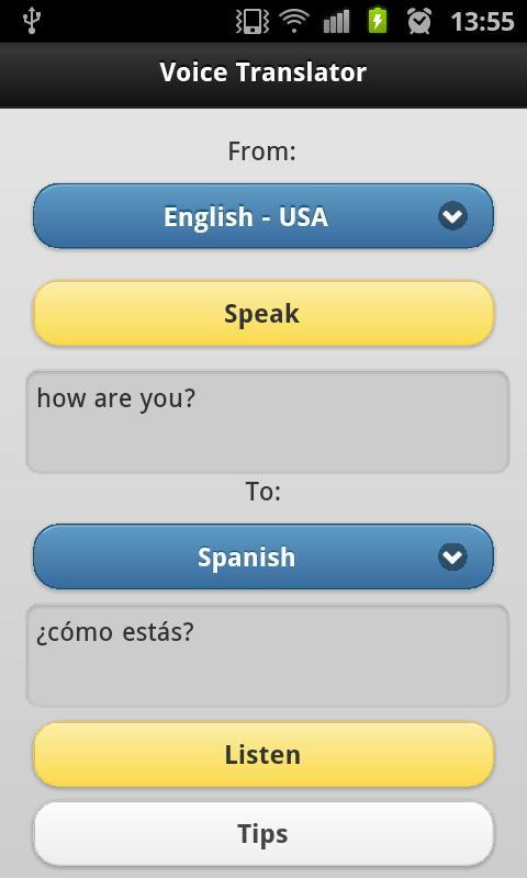 Voice Translator Pro - screenshot