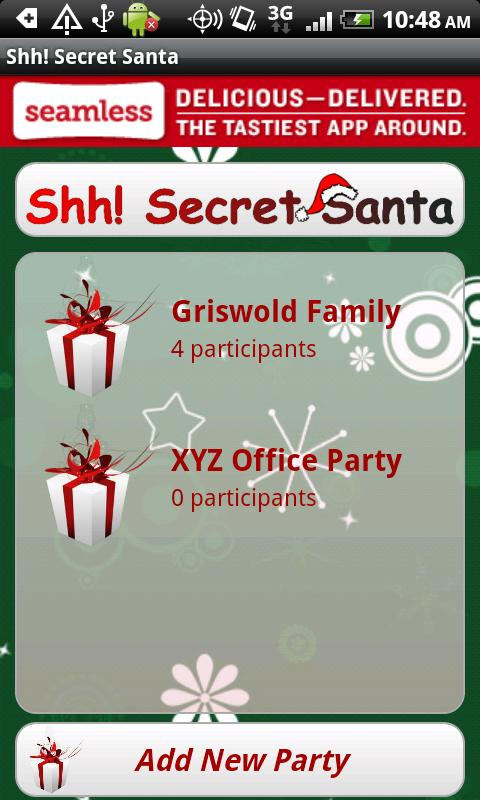 Shh! Secret Santa - screenshot