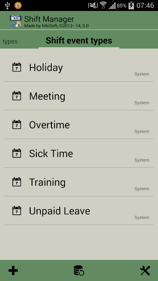 shift manager free   android apps on google playshift manager free  screenshot