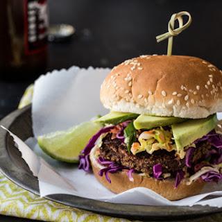 Jamaican Jerk Veggie Burgers