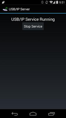 USB/IP Server - screenshot