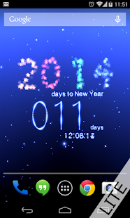 New Year Countdown 2014 Free - screenshot thumbnail
