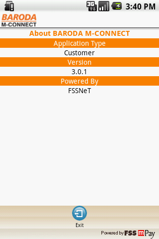 Bank of Baroda M-Connect - screenshot