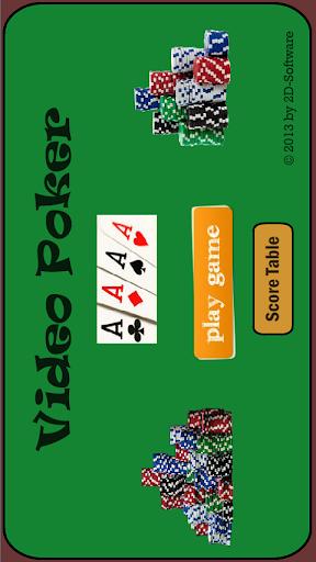 Video Poker 2D