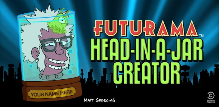 Futurama head-in-a-jar creator arriva sul Play Store