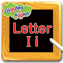 Letter I for LKG Kids Practice