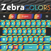 Zebra Keypad Skin Colors